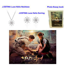 DESCENDANTS OF THE SUN  MEMORABILIA J.ESTINA NECKLACE EARRING PHOTO ESSAY KOREA