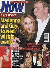 Madonna Now UK magazine 29 NOVEMBER 2000