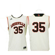 Louisville Cardinals Youth Classic Replica Basketball Jersey - White #35