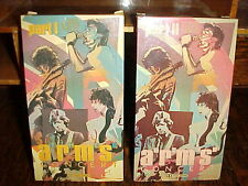 ERIC CLAPTON, JEFF BECK, JIMMY PAGE: The A.R.M.S. Concert (1984, 2 VHS Tapes)