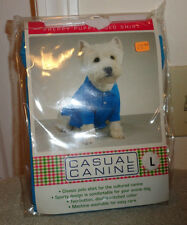 NIP Dog East Side Collection Casual Canine Preppy Puppy Polo Shirt T-Shirt
