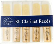 Carmichael Bb Clarinet Reeds - Box of 10 - Available in Strength 1.5, 2 & 2.5