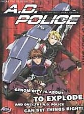 A.D. Police: To Protect and Serve 2 DVD set All 12 Episodes