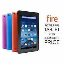 "NEW Amazon Kindle Fire 7"" Display 8 16 GB Wi-Fi 2015 Model IPS Quad core Colors"