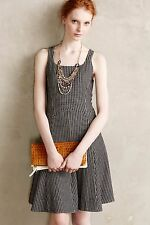 NWT Anthropologie Tanith Dress by Bordeaux, XS, S, L, Monochrome, was $168