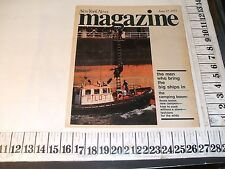 1973 SANDY HOOK NY PILOT BOAT LORDS OF THE HARBOR REPORT