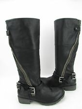 NEW Women's Zigi Soho Dakara Black Knee High Side Zip Boot