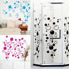 86 Bubbles Wall Art Bathroom Shower Tile Removable Decor Decal Mural Kid Sticker