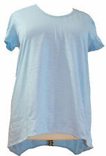 NWT Neon Buddha Plus Size Libby Tee in Ice Blue  7960 XL-3X
