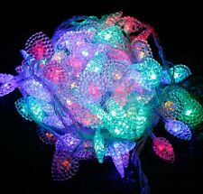 Mini Heart LED Christmas Tree Night Light Wedding Party Decor Indoor Outdoor NEW