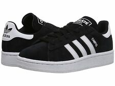ADIDAS ® CAMPUS BLACK WHITE  KIDS CASUAL SHOES * NEW IN BOX