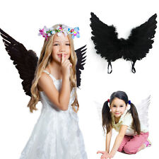 Large Adult Feather Angel Fairy Party Fancy Dress Costume Accessory Kid Wings UK