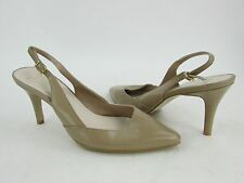 NEW Cole Haan Women's Maple Sugar Leather Pointed Toe Slingback Pump