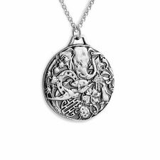 Good Luck Protection Charm Pendant Necklace #925 Sterling Silver #Azaggi N0231S