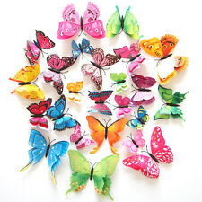 DIY 12X 3D Butterfly Design Decal Art Wall Stickers Room Decorations Home Decor