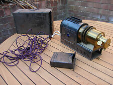 Victorian Magic Lantern Projector Converted to Electric Working Global Shipping