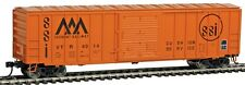 Walthers 910-2136 HO Vermont Railway 50' ACF Exterior Post Boxcar #4014