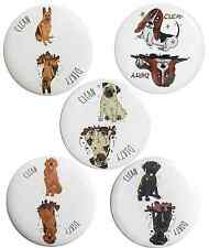 Clean Dirty Dishwasher Magnet - Pug German Shepherd Basset Hound Black Lab
