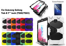"""Heavy Duty Shock Proof case/Screen Protector For Samsung Galaxy Tab A (7.0"""")2016"""