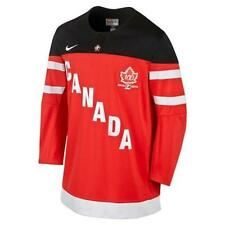 TEAM CANADA RED NIKE 100th ANNIVERSARY IIHF REPLICA JERSEY