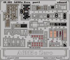 Eduard 49405 1:48 A6M5c Zero for Hasegawa Aircraft (Painted and Self-Adhesive)