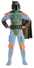 NEW Star Wars Boba Fett Deluxe Adult Costume Fancy Dress Australian Seller,