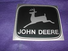 JOHN DEERE DECALS IN FOUR DIFFERENT COLORS MEASURE 4 3/8 X 3 7/8