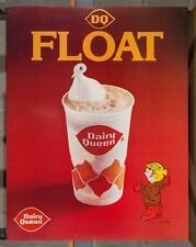 Vintage Dairy Queen Promotional Poster Dennis The Menace Float dq2
