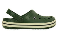 MEN'S SHOES SNEAKERS CROCS CROCBAND [11016 FOREST GREEN]