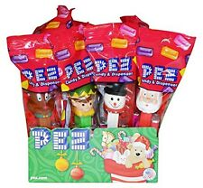 Pez Candy Christmas Winter PEZ Dispensers Pack of 12