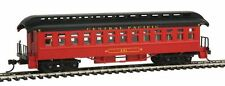 Con-Cor 15607 HO Central Pacific 1880s Wood Open-Platform Coach Car #131