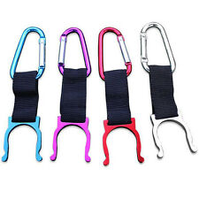 Camping Carabiner Water Bottle Buckle Hook Holder Clip For Camping Hiking