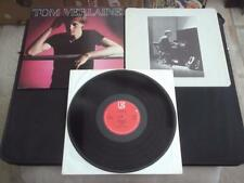 "TOM VERLAINE - TOM VERLAINE 1979 UK PRESS 12"" VINYL RECORD LP NEAR MINT"