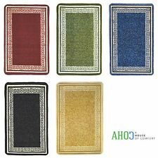 Machine Washable Non-Slip Kitchen Floor Hall Mats Rubber Backed Rugs Carpet Mat