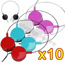 10xAdjustable 3.5 mm On-Ear Earphone Headphone For iPod iPhone MP3 MP4 PC Tablet