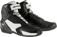 ALPINESTARS SP-1 VENTED Road/Street Motorcycle Shoes (Black/White) Choose Size