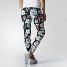 WOMENS ADIDAS ORIGINALS FLORAL LINEAR LEGGINGS-   8,10,12,14,16 - BNWT- LAST FEW
