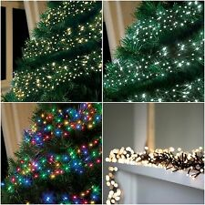 720 LED Christmas Cluster lights  String Indoor Outdoor Xmas Tree Decoration