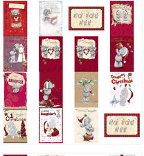 Daughter Me to You Bear Christmas Cards