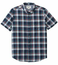 Billabong Men Bridges  Shirt Short Sleeve Large M501EBRI