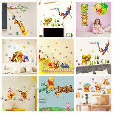 Winnie The Pooh Wall Stickers Nursery Kids Bedroom Removable Mural Decal Decor