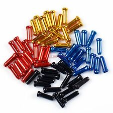 15 X Bike Bicycle Brake Gear Inner Cable End Caps Ferrules Crimps Tidys