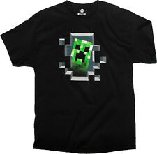 Minecraft Creeper T-shirt Anime Licensed NEW