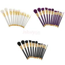 15 Pro Makeup Brushes Set Foundation Face Powder Contour Puff Eye Lip Brush Tool