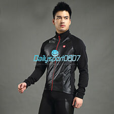 DS Cycling Bicycle Autumn Winter Fleece Thermal Long Jersey Long Sleeve 1048
