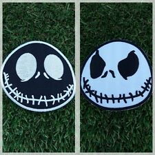 JACK SKELLINGTON NIGHTMARE BEFORE CHRISTMAS Patch Iron Embroidered Sew Badge