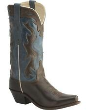 Old West Women's Jama Vintage Inlay Shaft Cowgirl Boot Snip Toe LF1526