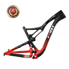 IMUST 27.5er Carbon Full Suspension Bike Frame S7 BB92 650B All Mountain Frame