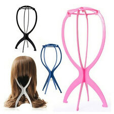 New Folding Plastic Stable Durable Wig Hair Hat Cap Holder Stand Display Tool MC