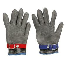 Stainless Steel Safety Glove Outdoor Working Glove Protective Cut-Resistant D7W8
